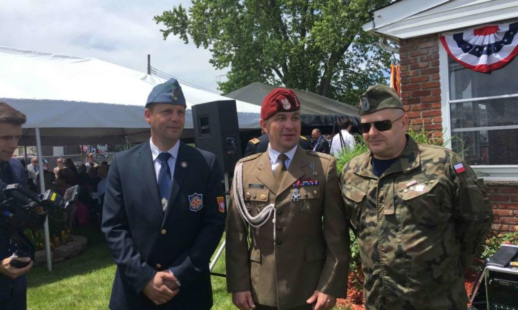 "On June 13, 2019, a meeting with Polish and American veterans of war missions in Afghanistan took place at the headquarters of the Polish Ambassador in Washington. At the meeting, two episodes of the series ""Veterans Ripped Out of Death"" were presented. The meeting was honored by the presence of the Minister of National Defense […]"